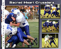 Sacred Heart Sports Poster
